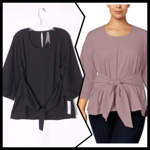 797b3b01b Melissa McCarthy Seven7 Tops   Business Wear Blouse Plus   Poshmark